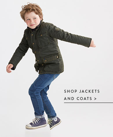 Shop Jackets and Coats.