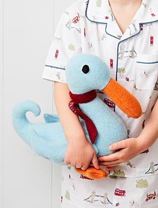 British Wool Duck Soft Toy