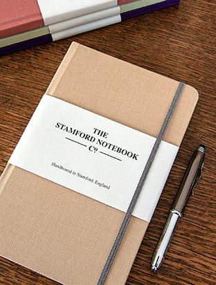 Personalised Woven Cloth Notebook