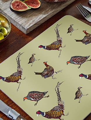 Country Birds Placemat