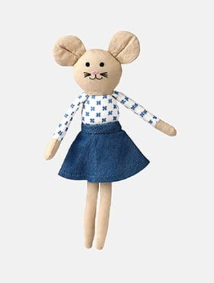 MILI TEA BAG MOUSE DOLL