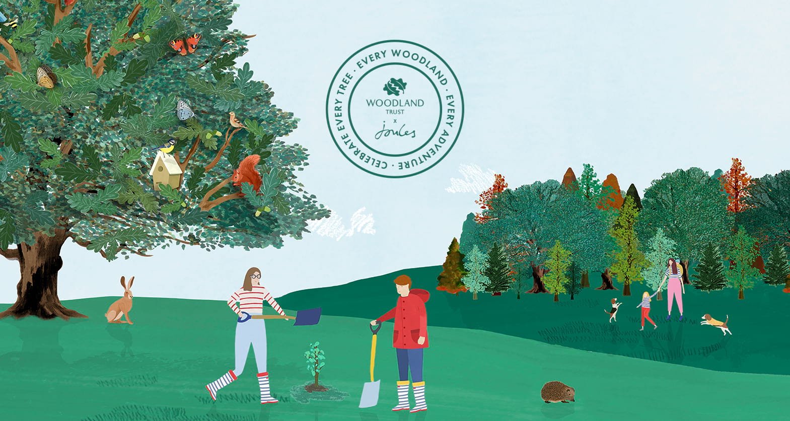Woodland Trust x Joules