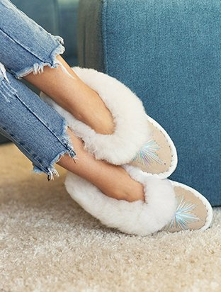 Elsa Sheepskin Slippers