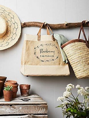 Personalised Country Home Bag