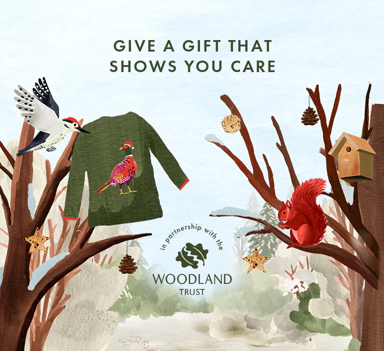 Give a gift that shows you care. In partnership with the Woodland Trust