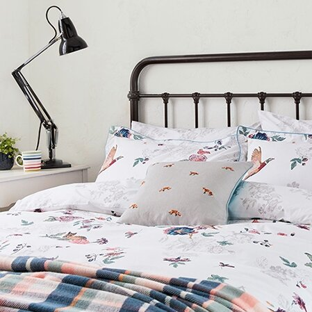 cosy up to our new bedding