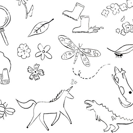 For Little Ones: Free printable colouring in sheet