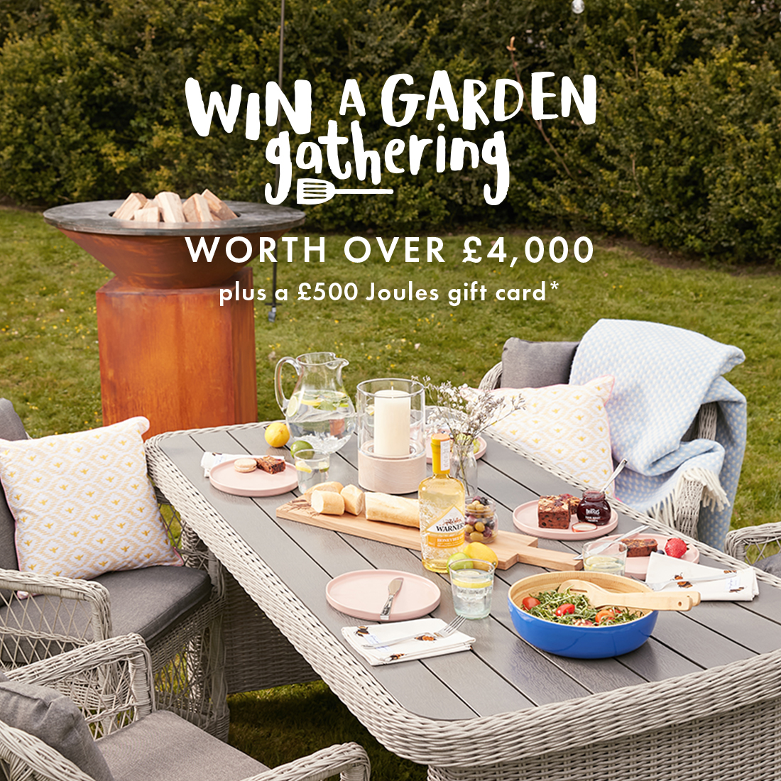 Win a Garden Gathering Competition