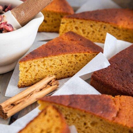 Spiced Swede Cake By Blackberry Cottage