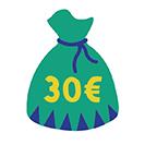 unter 30 €