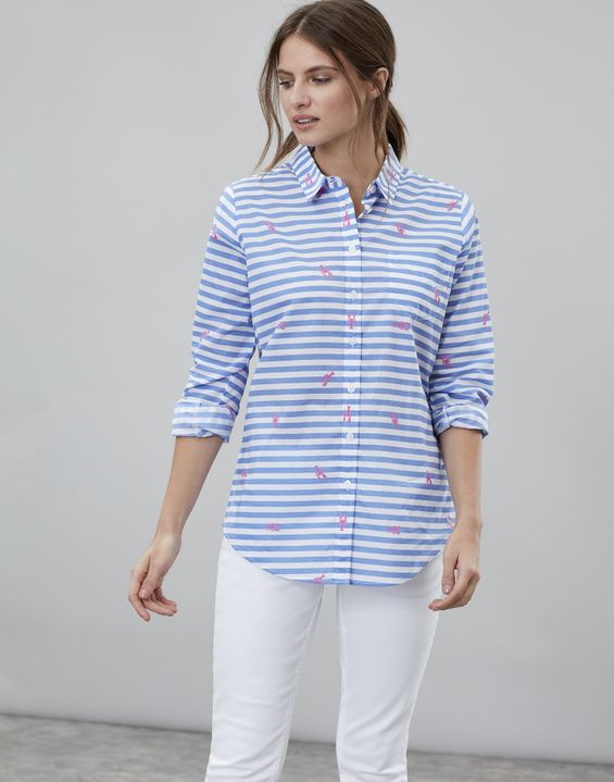 0f5d9638b4 Women's Blouses & Shirts | Striped & Floral Shirts & Blouses | Joules