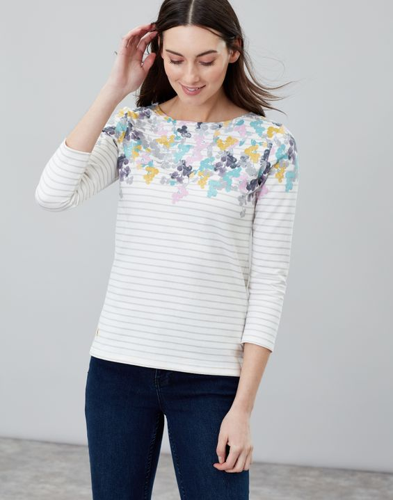 bb6b4e6fe90ae Harbour Printed Jersey top
