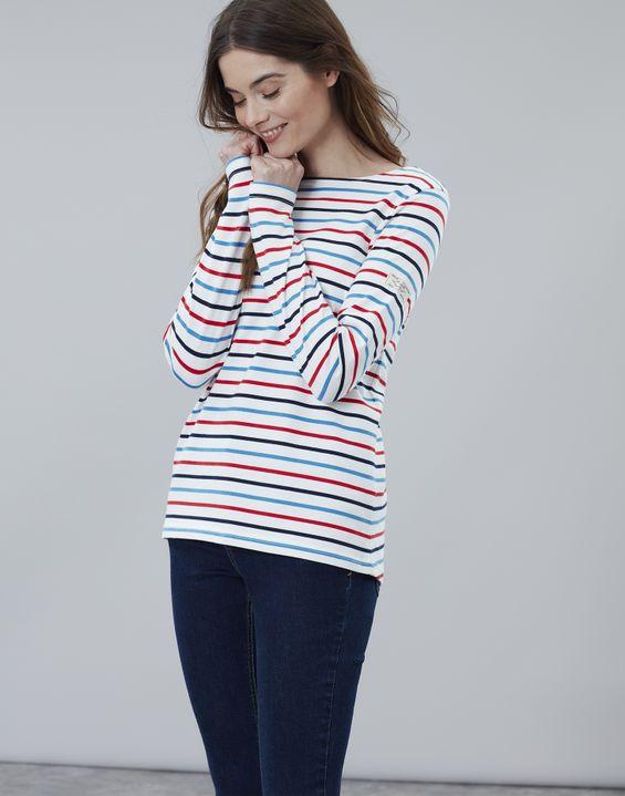 7abd4840530f Women's Tops   Long Sleeve, Breton Stripe & Jersey Tops   Joules