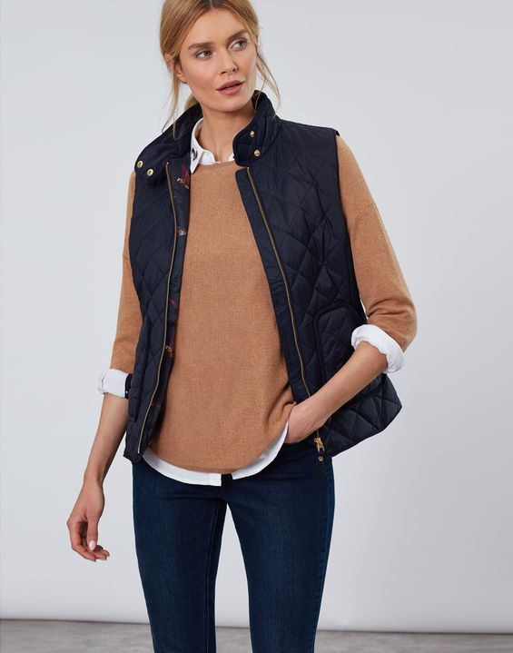 f0ccadd10 Vests for Women | Ladies' Quilted Vests & Padded Vests | Joules® US