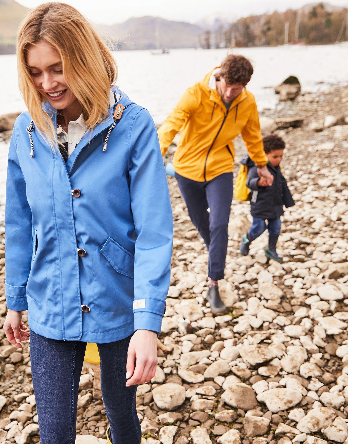 Joules Coast Ladies Waterproof Jacket Ivory