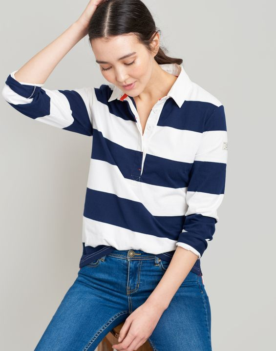 Women S Tops Blouses Polo Shirts T Shirts Joules Us