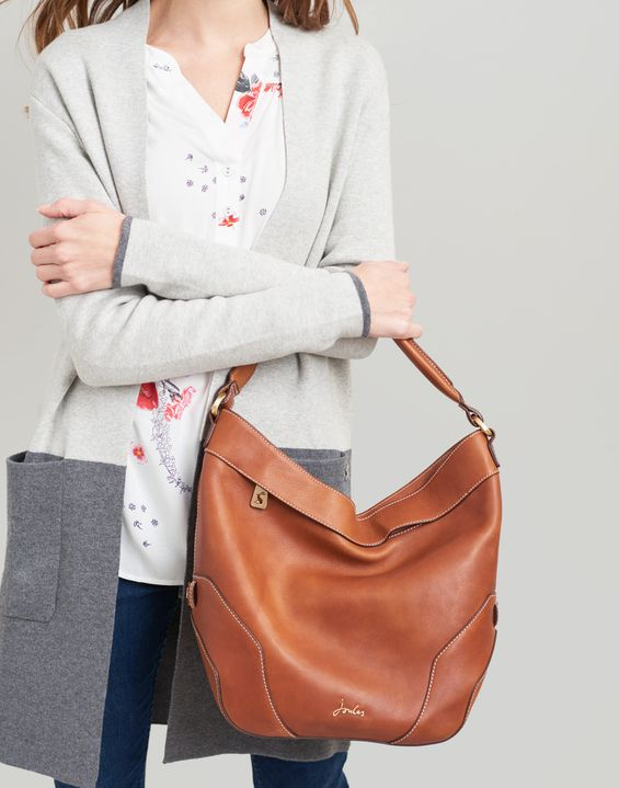 6877a61a4f Lowesby Leather Hobo Bag
