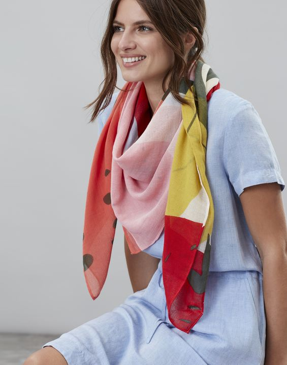 597bc14770f56 Women's Scarves | Ladies' Silk Scarves & Knitted Scarves | Joules