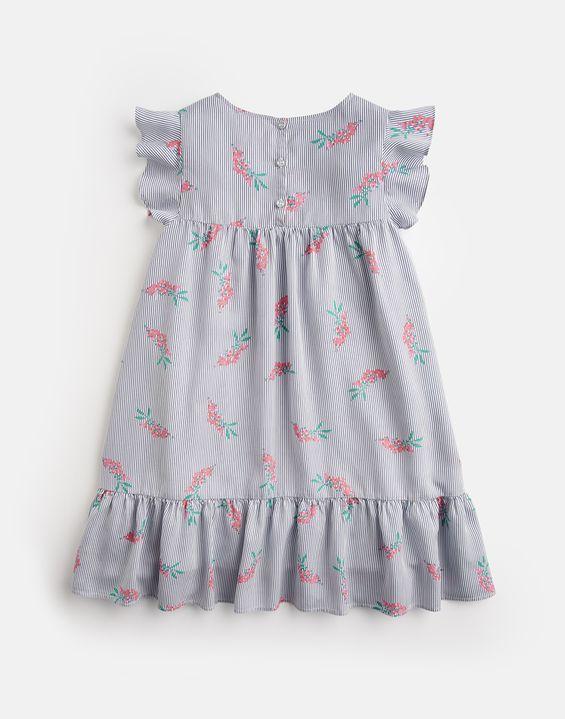 4a4c35c7fd7b Posy Frill Sleeve Dress 3-12 Yr