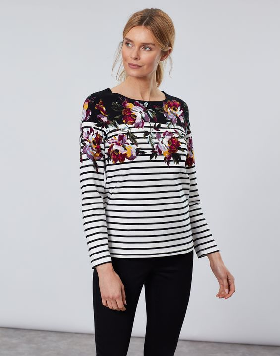 c0c6be5a3a9 Breton Stripe Tops & Nautical Print Tops For Women | Joules