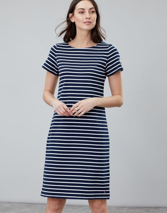 0d213e0dbb4 Riviera Long Short Sleeve Jersey Dress