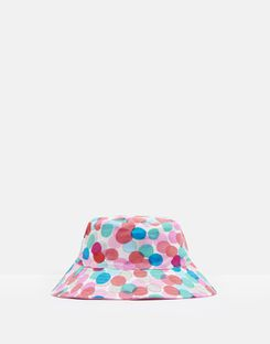 Joules UK Mirabelle Girls Hat With Bow MULTI FAIRY SPOT