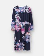 ba084dbbd7 Joules UK Jude Womens Wrap Dress With 3 4 Sleeve NAVY FLORAL