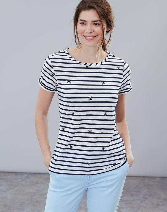 b53c0a99 Nessa Print Lightweight Jersey T-Shirt