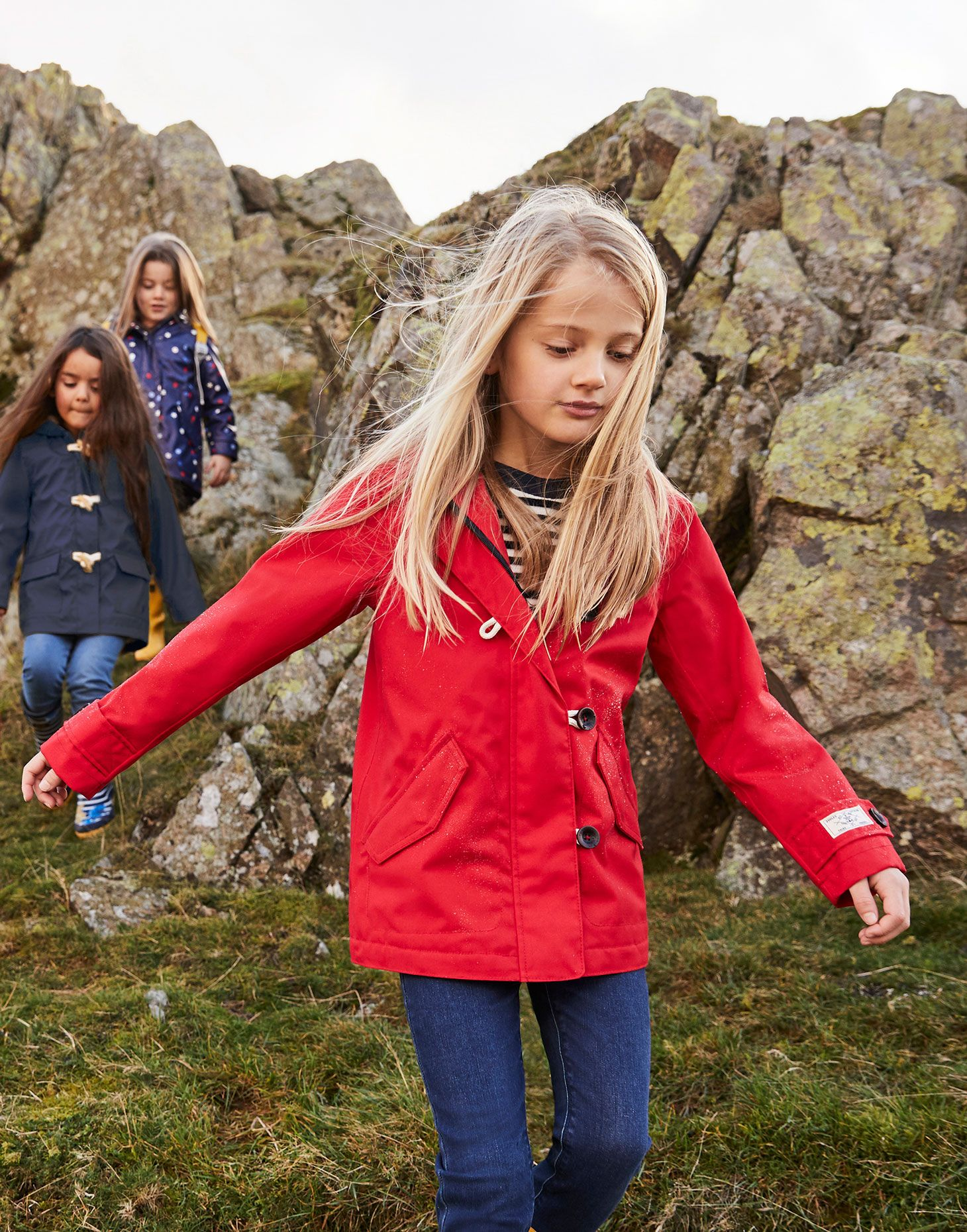 Joules Girls Coast Coat