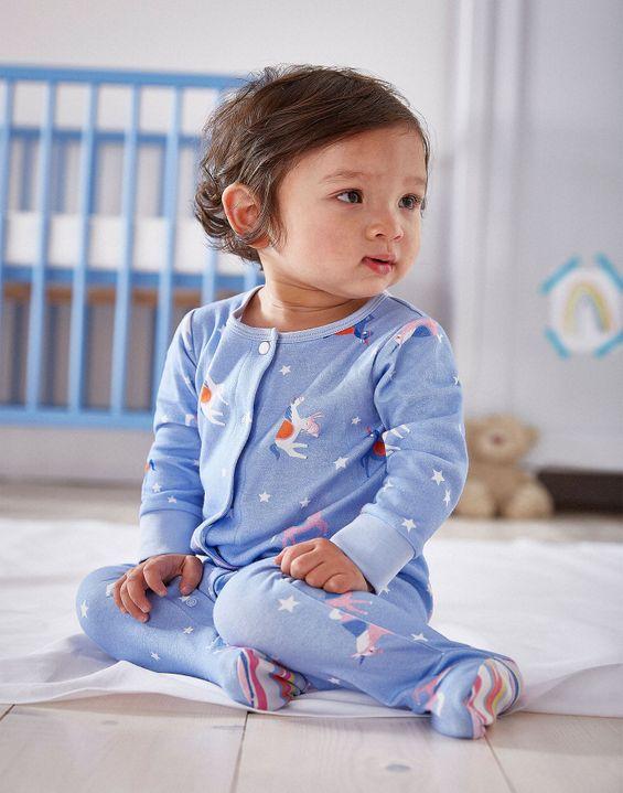 f759ae073345 Joules UK Razamataz Baby Girls Jersey Printed Babygrow Joules UK Razamataz Baby  Girls ...