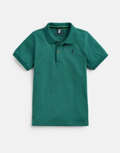Joules UK WOODY Older Boys POLO SHIRT 1-12yr GREEN