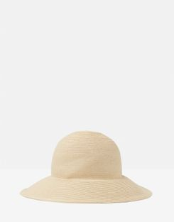 Joules US Violet Womens Cloche Hat NATURAL