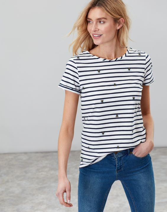 2c63574876 Women's Tops | Long Sleeve, Breton Stripe & Jersey Tops | Joules