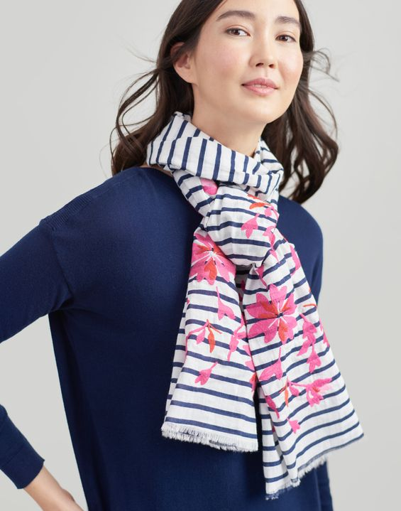 8c8827f84f517 Women's Scarves | Ladies' Silk Scarves & Knitted Scarves | Joules