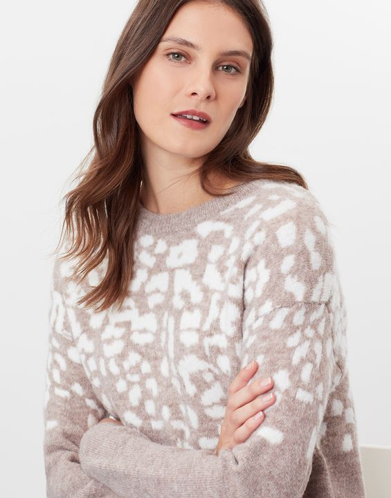 Knitted Relaxed Fit Jumper
