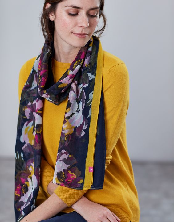 e5ff7141f Women's Scarves | Ladies' Silk Scarves & Knitted Scarves | Joules
