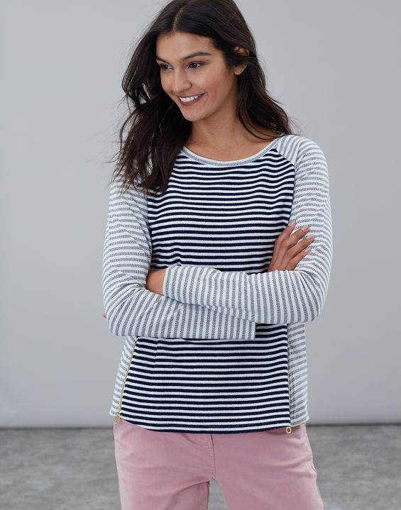 e9f64d90 Women's Tops | Long Sleeve, Breton Stripe & Jersey Tops | Joules