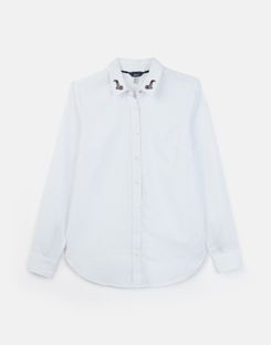 Joules US Lucie Womens Woven Shirt CREAM
