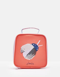 Joules US Munch Girls Lunch Bag PINK LADY BIRD