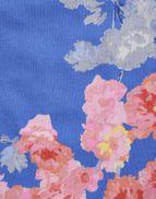 Joules Girls Iris Shoulder Knot Vest in BLUE FLORAL