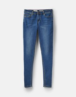 Joules US Monroe Womens Skinny Stretch Jeans BLUE