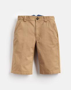 Joules UK Cal Older Boys Chino Short 3-12 Yr SAND