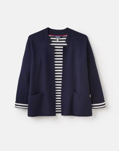 Joules UK Ursula Womens Milano Cardigan FRENCH NAVY