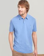 531c0bf88081c Joules UK Laundered Polo Mens Relaxed Fit Polo Shirt POWDER BLUE