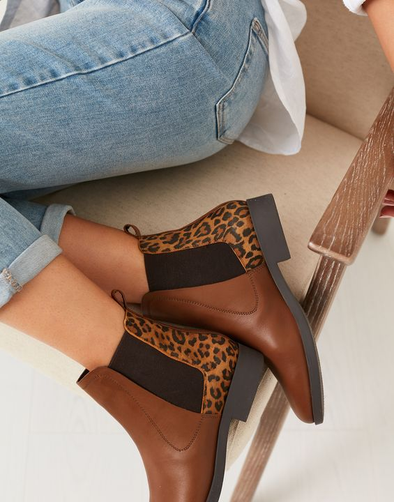 Joules Womens Chelmsford Chelsea Boots - Leopard