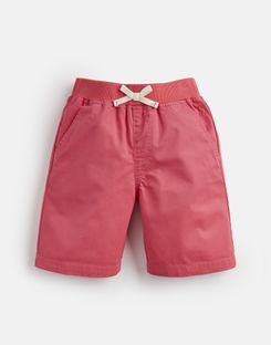 Joules US Huey Older Boys Woven Short 1-12 Yr DARK DAHLIA PINK
