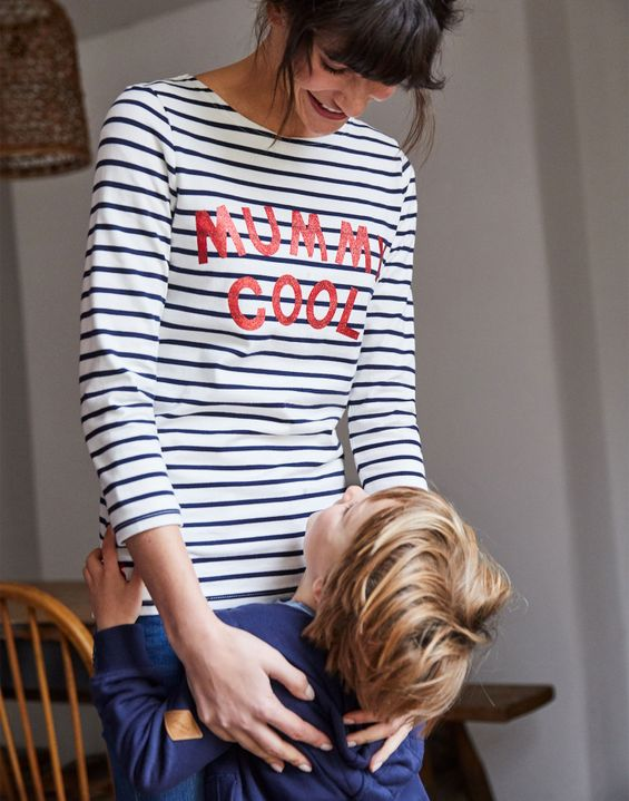 Joules UK Harbour Womens Printed Jersey top