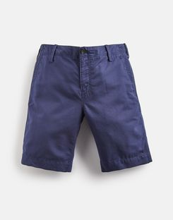 Joules UK Laundered Mens Linen Mix Oxford Chino Shorts FRENCH NAVY
