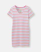 SS19 Joules Riviera V Neck Jersey Dress