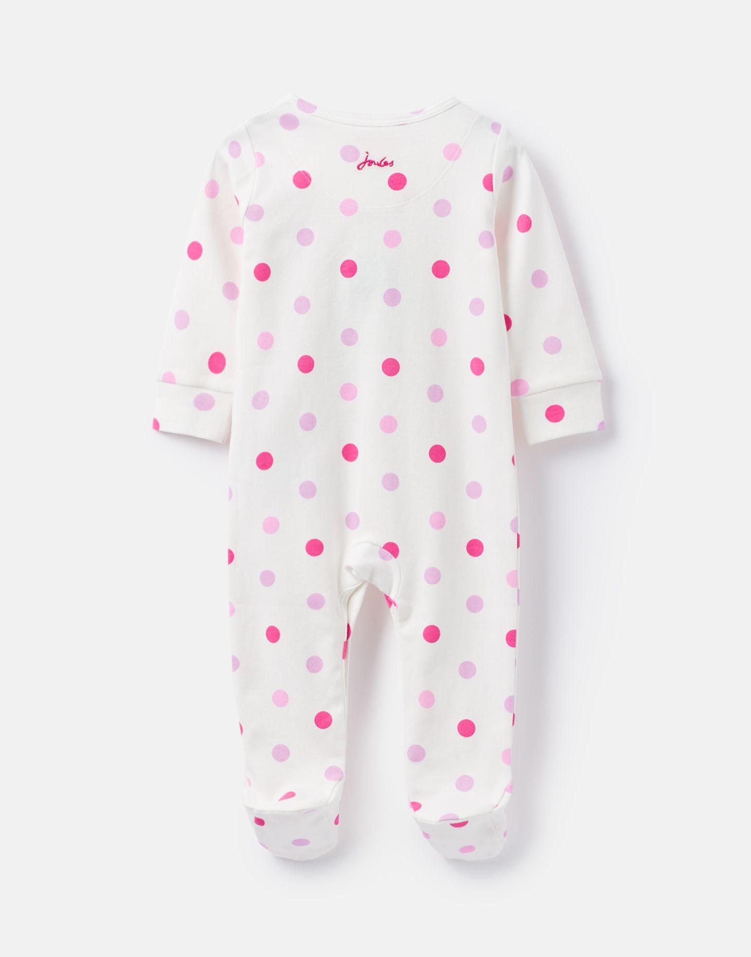 Joules 207235 Printed Babygrow MULTI SPOT